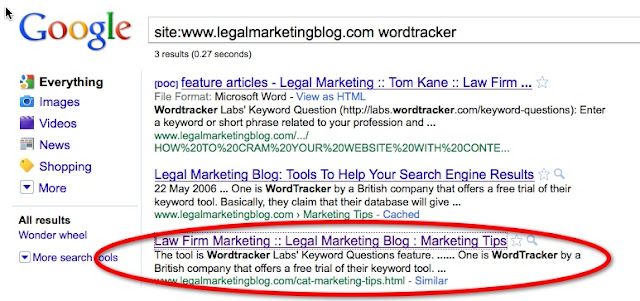 12 Legal marketing blog search