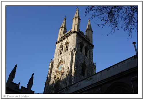 St Sepulchre's Church-Newgate Street-London