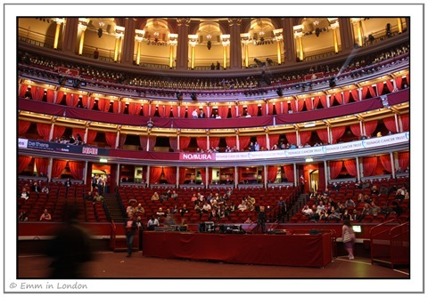 Royal Albert Hall Interior