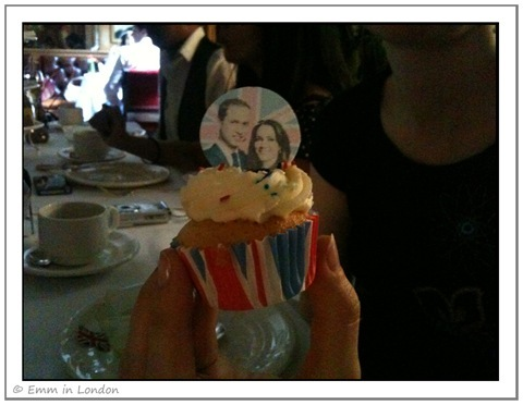 William and Kate Royal Wedding cupcake