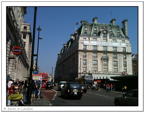 The Ritz Hotel Mayfair