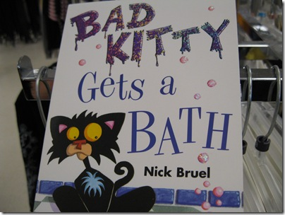 Instructional Literature For Cat Bath