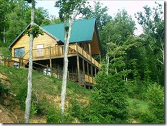 cabin in tn