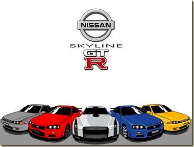 Nissan_Skylines_r32-34-35
