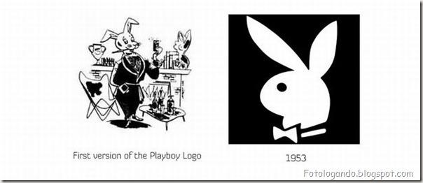 Mudanças de Logotipos ao longo do tempo (10)