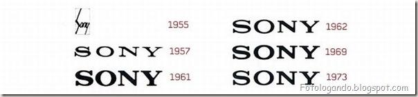 Mudanças de Logotipos ao longo do tempo (3)