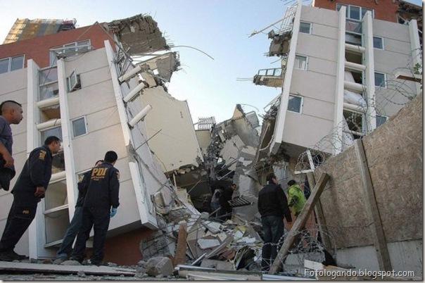 Fotos do Devastador terremoto no Chile (4)