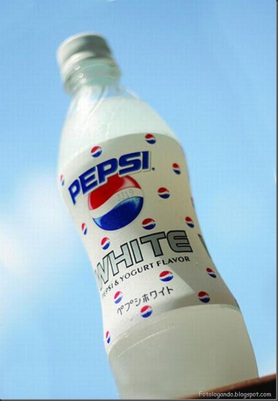 Sabores não comuns de Pepsi