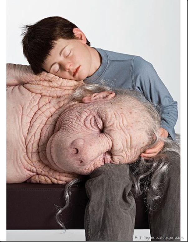 A arte controversa nas esculturas de Patricia Piccinini (3)