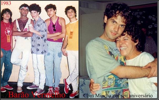 Barão Vermelho 1983 e Com Miucha em seu aniversário de 28 anos