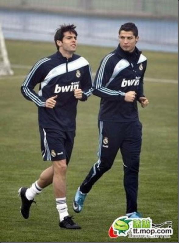 A bela amizade de Cristiano Ronaldo e Kaká (25)