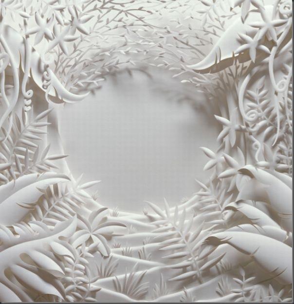 Lindas esculturas de papel (7)