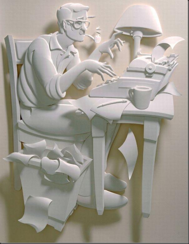 Lindas esculturas de papel (6)