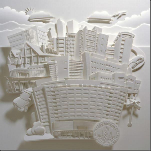 Lindas esculturas de papel (4)