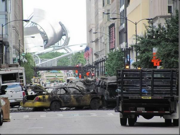 Fotos da filmagens de Transformers 3 (9)