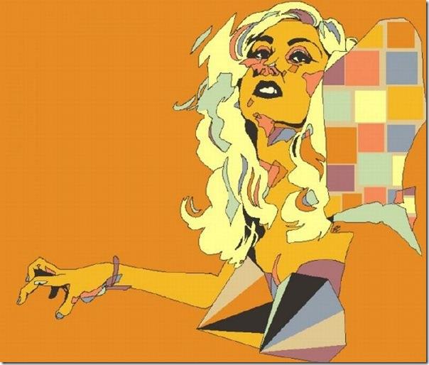 50 desenhos feitos por fãs de Lady Gaga (38)