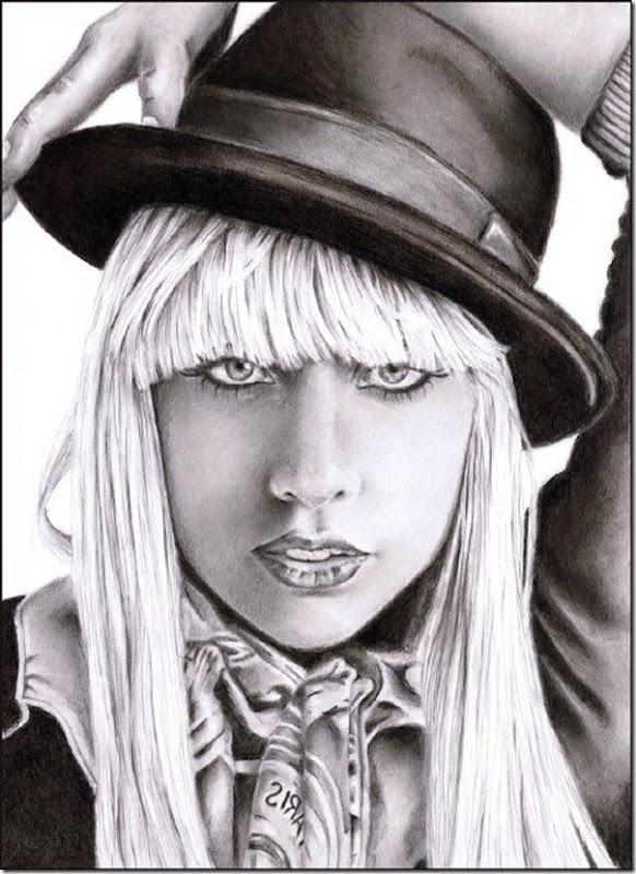 50 desenhos feitos por fãs de Lady Gaga (30)