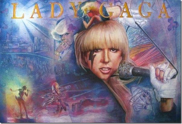 50 desenhos feitos por fãs de Lady Gaga (25)