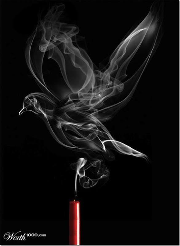 A bela arte feita com a fumaça (4)
