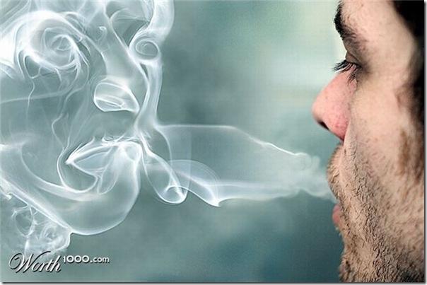 A bela arte feita com a fumaça (3)