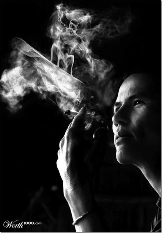 A bela arte feita com a fumaça (1)