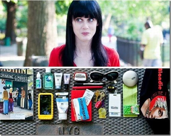 O que as pessoas carregam em suas bolsas durante o dia-a-dia (1)