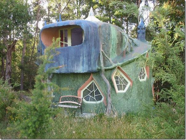 Casas que parecem ter saido de contos de fadas (3)