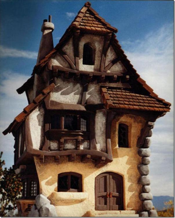 Casas que parecem ter saido de contos de fadas