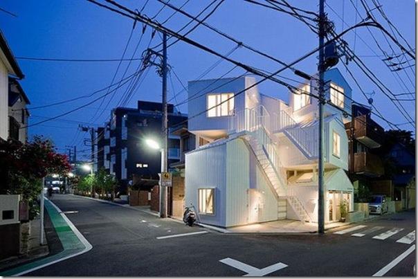 Apartamento diferente em Tóquio
