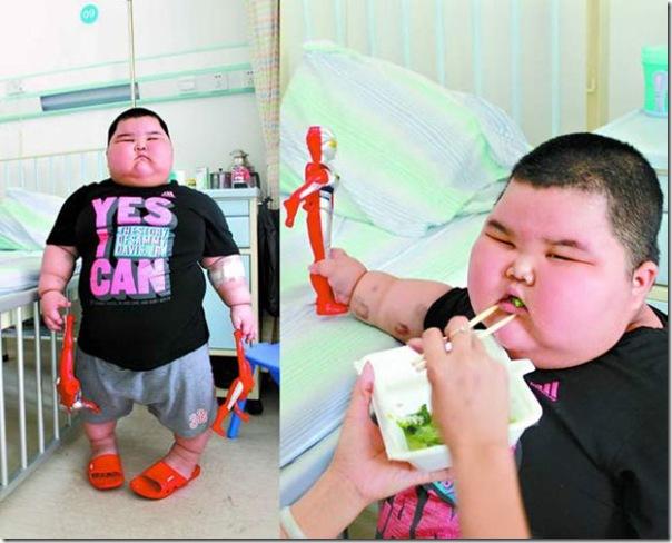 Mais uma criança chinesa obesa (3)