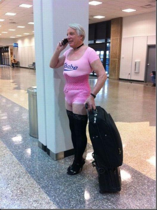 Um dia comum no aeroporto
