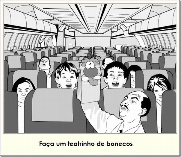 O que fazer durante uma viagem de avião (7)
