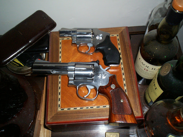 Show You Mine, Show Me Yours - Revolver Handguns