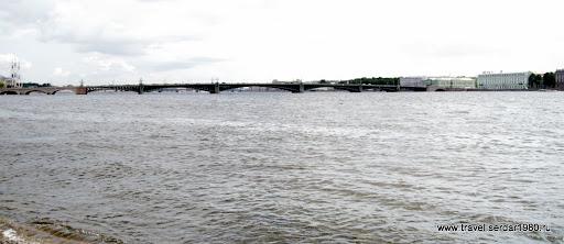 панорама Троицкого моста