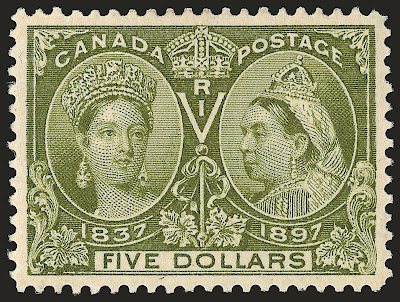 Canada, 5$ Jubilé