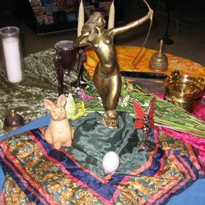 A Samhain Ritual For Wiccans And Pagans Cover