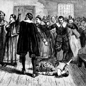 the puritans in the time of the salem witch The salem witch trials were notoriously gruesome, but not a single person  to  death at the stake by the hands of puritans in america is completely false  at  this time in history, however, british law reserved burning for.