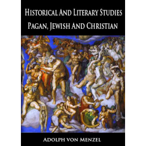 Historical And Literary Studies Pagan Jewish And Christian Cover