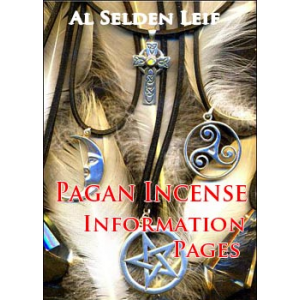 Pagan Incense Information Pages Cover