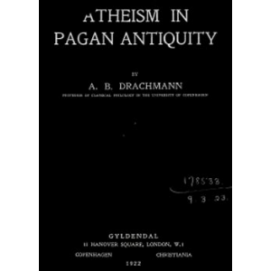 Atheism In Pagan Antiquity Cover
