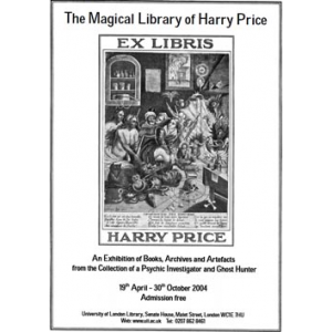 The Magical Library Of Harry Price Cover