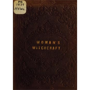 Woman Witchcraft Or The Curse Of Coquetry A Dramatic Romance Cover