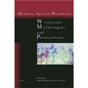 Witchcraft Mythologies And Persecutions Cover
