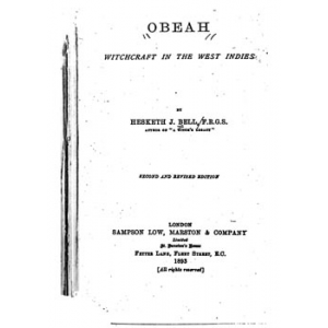 Obeah Witchcraft In The West Indies Cover