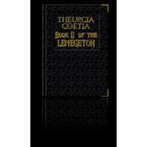 Lemegeton Ii The Lesser Key Of Solomon Theurgia Goetia Cover