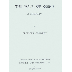 The Soul Of Osiris Cover