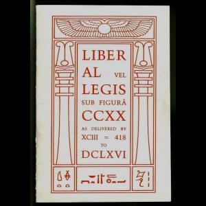 Liber Al Vel Legis Cover