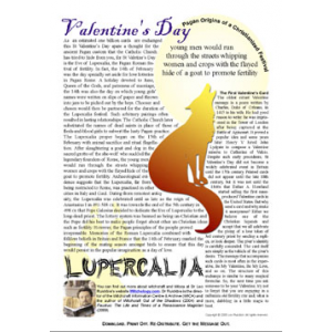 Valentines Vs Lupercalia Cover