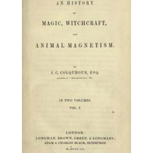 An History Of Magic Witchcraft And Animal Magnetism Cover