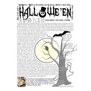 Halloween And Samhain Cover